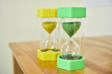 Zeitliche Strukturierung (Sanduhr)-Zeitliche Strukturierung